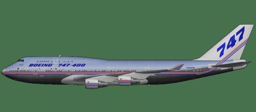 Resultado de imagen para Boeing 747-400 png