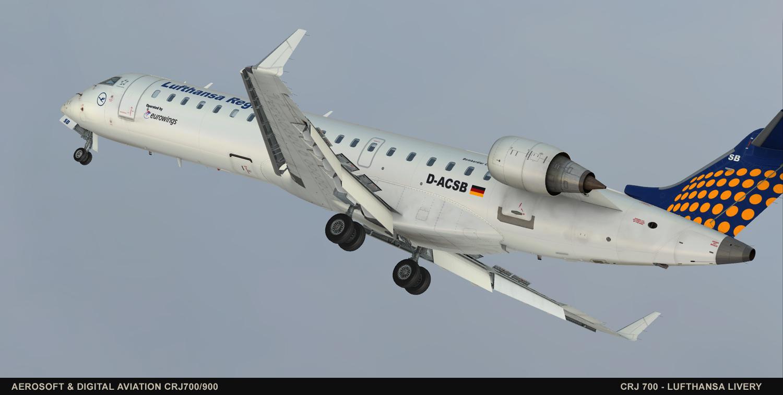 Aerosoft  Digital Aviation CRJ  FSXPage
