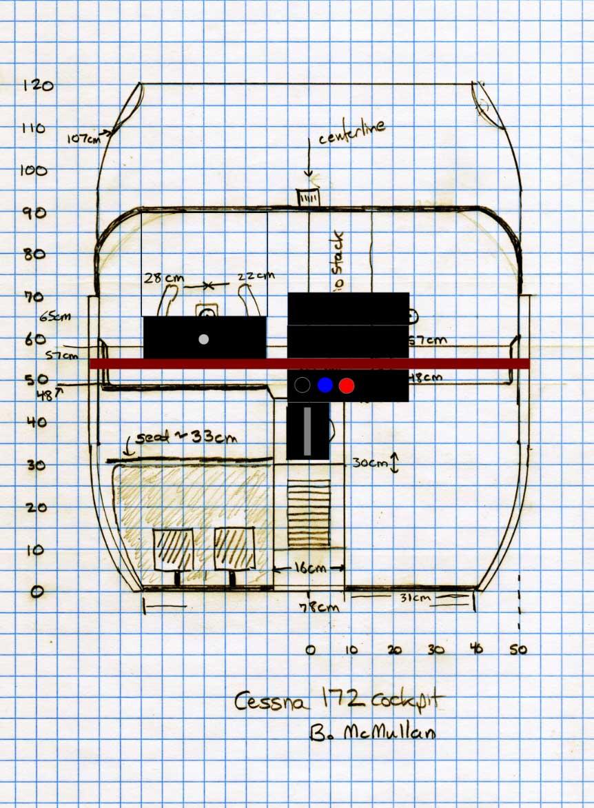 cessna 172 dashboard diagram model t wiring electrical schematic 230 c172m cockpit measurements fsx times rh fsxtimes wordpress com airplane