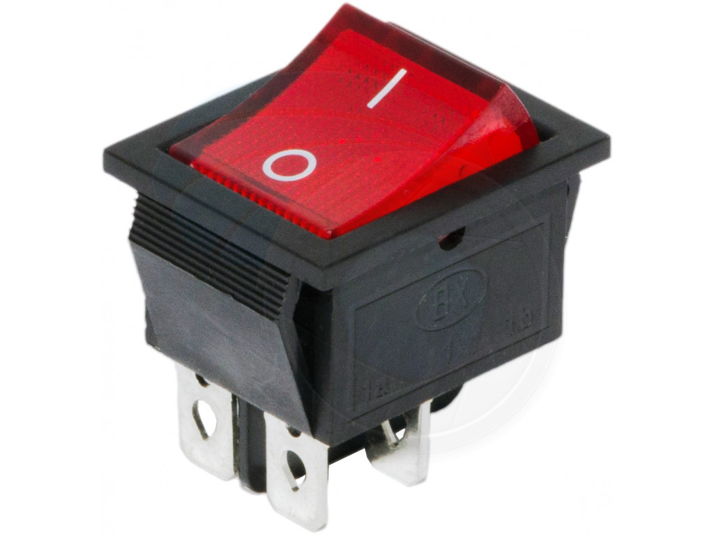2 prong toggle switch wiring diagram 1988 ford ranger radio red button on off 4 pin dpst boat rocker 16a 250v