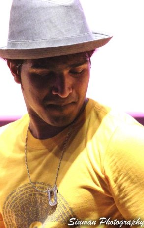 Uday in yellow
