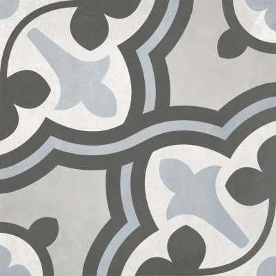 form tide baroque deco porcelain tile