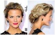 messy updos top casual prom
