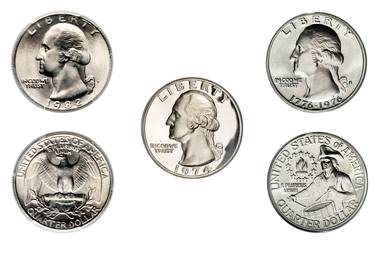 Clad Washington Quarter Values And Prices