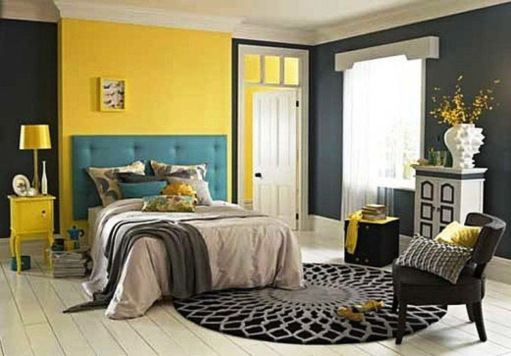 spectacular grey and yellow decorations. Yellow Gray And Teal Bedroom Design  Farmersagentartruiz com