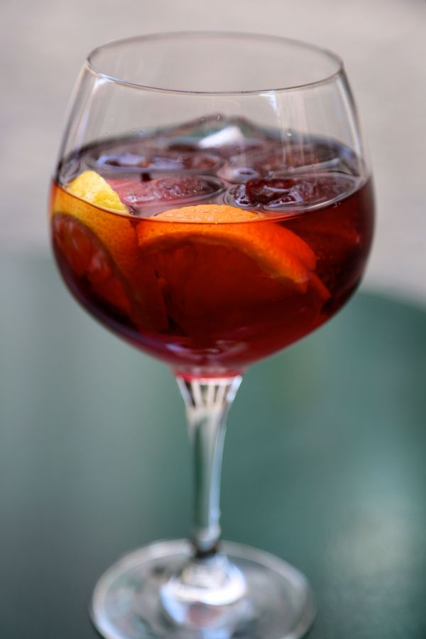 Fruit Sangria Recipe With Red Wine And Grand Marnier