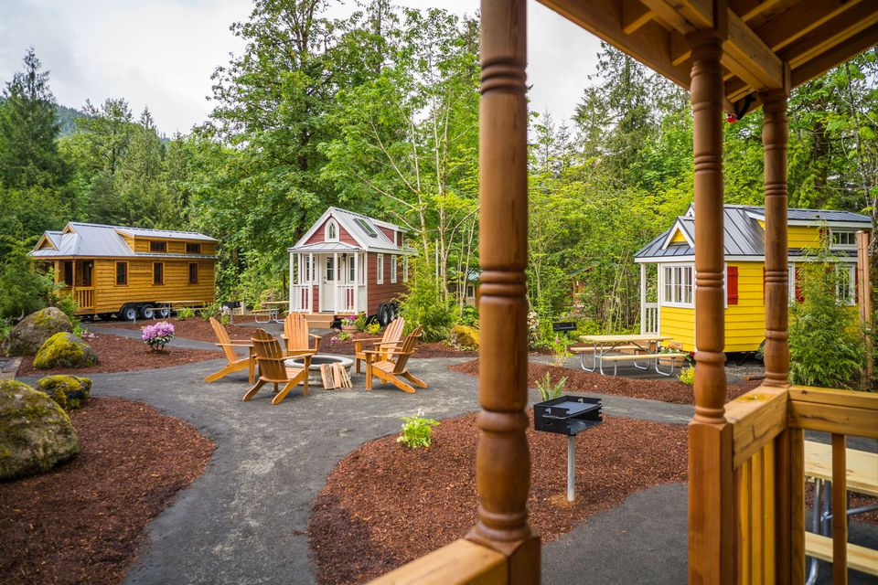hotels with kitchens in portland oregon l shaped kitchen rug 7 tiny house for fun-size vacations