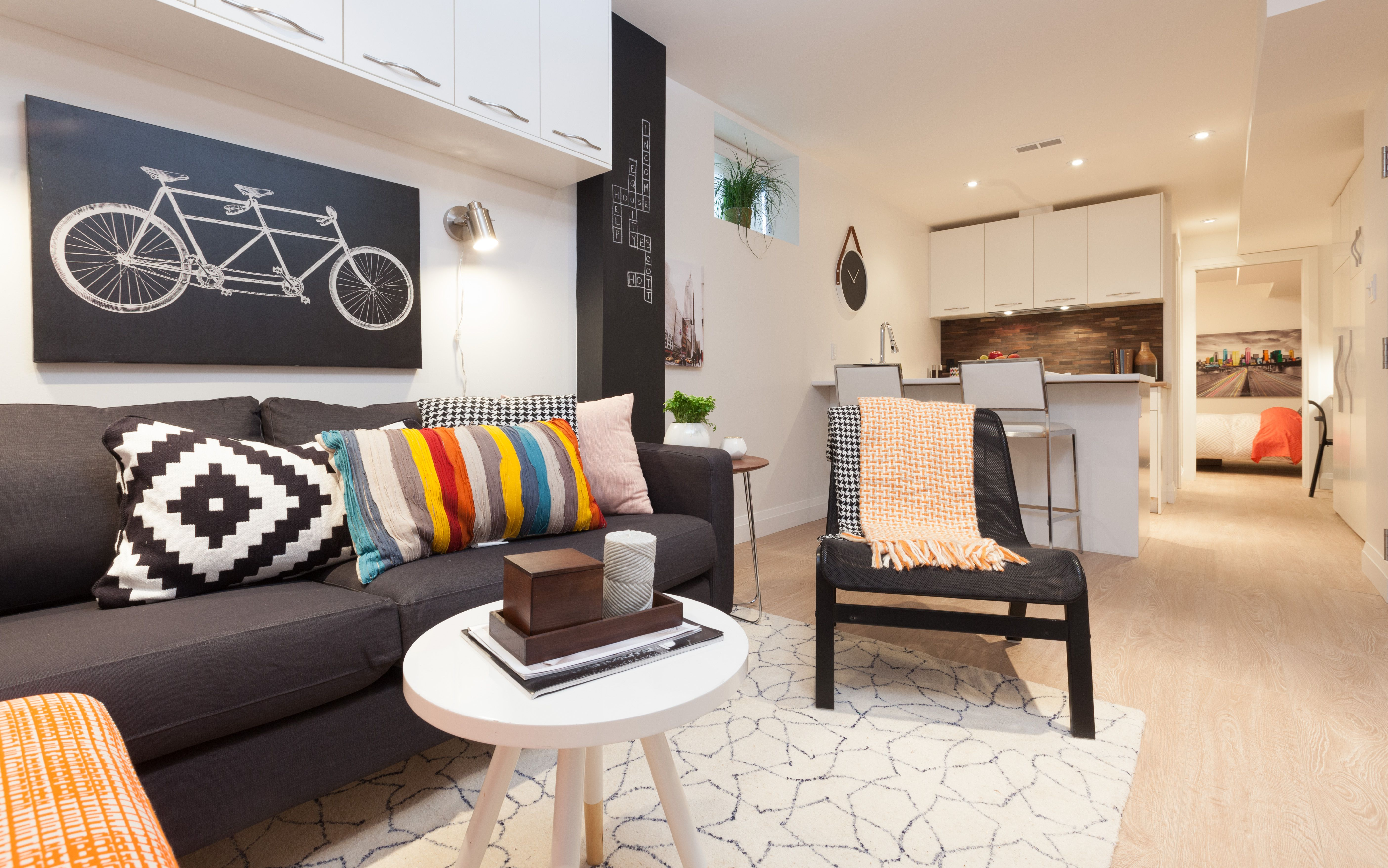 how to decorate long and narrow living rooms