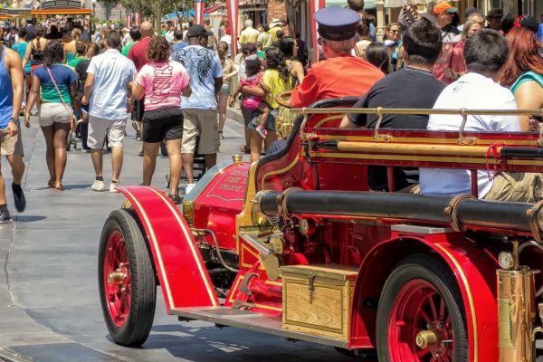 Disneyland Main Street USA Vehicles
