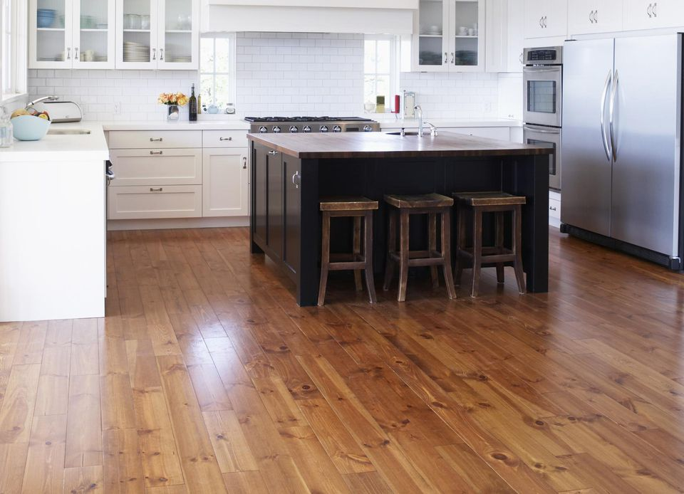 kitchen island and carts prefab outdoor kits 4 good inexpensive flooring options