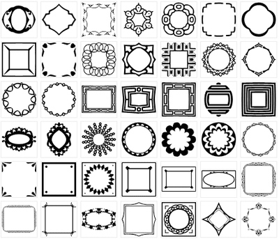 Christian Cross Shapes for Photoshop and Elements