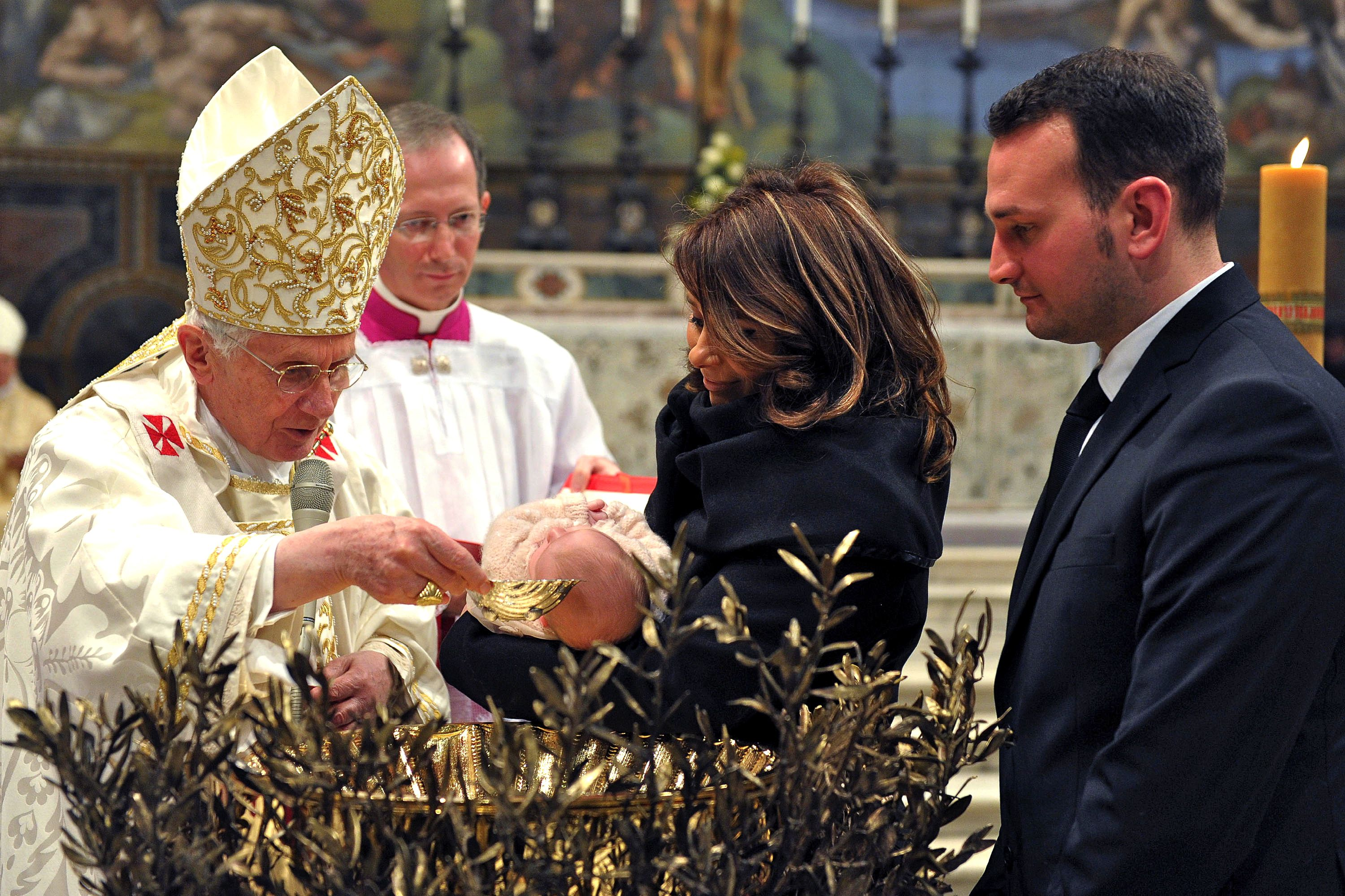 The Sacrament Of Baptism In The Catholic Church
