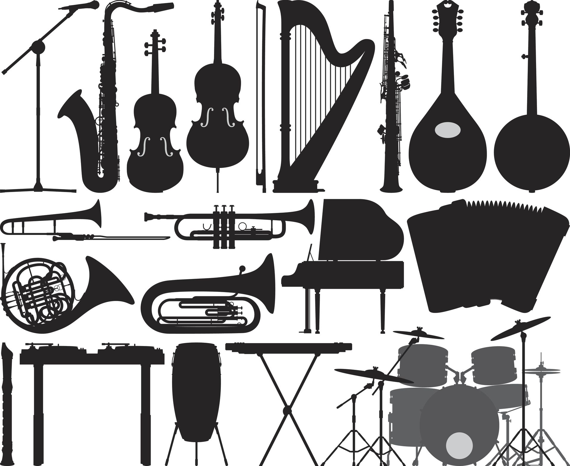 Musical Instruments Word Search Crossword Puzzle And More