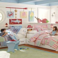 Great Ideas for Shared Kids' Bedrooms