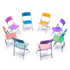 Folding Circle Chairs Ikea Swivel Chair Yellow How To Text Wrap In Powerpoint