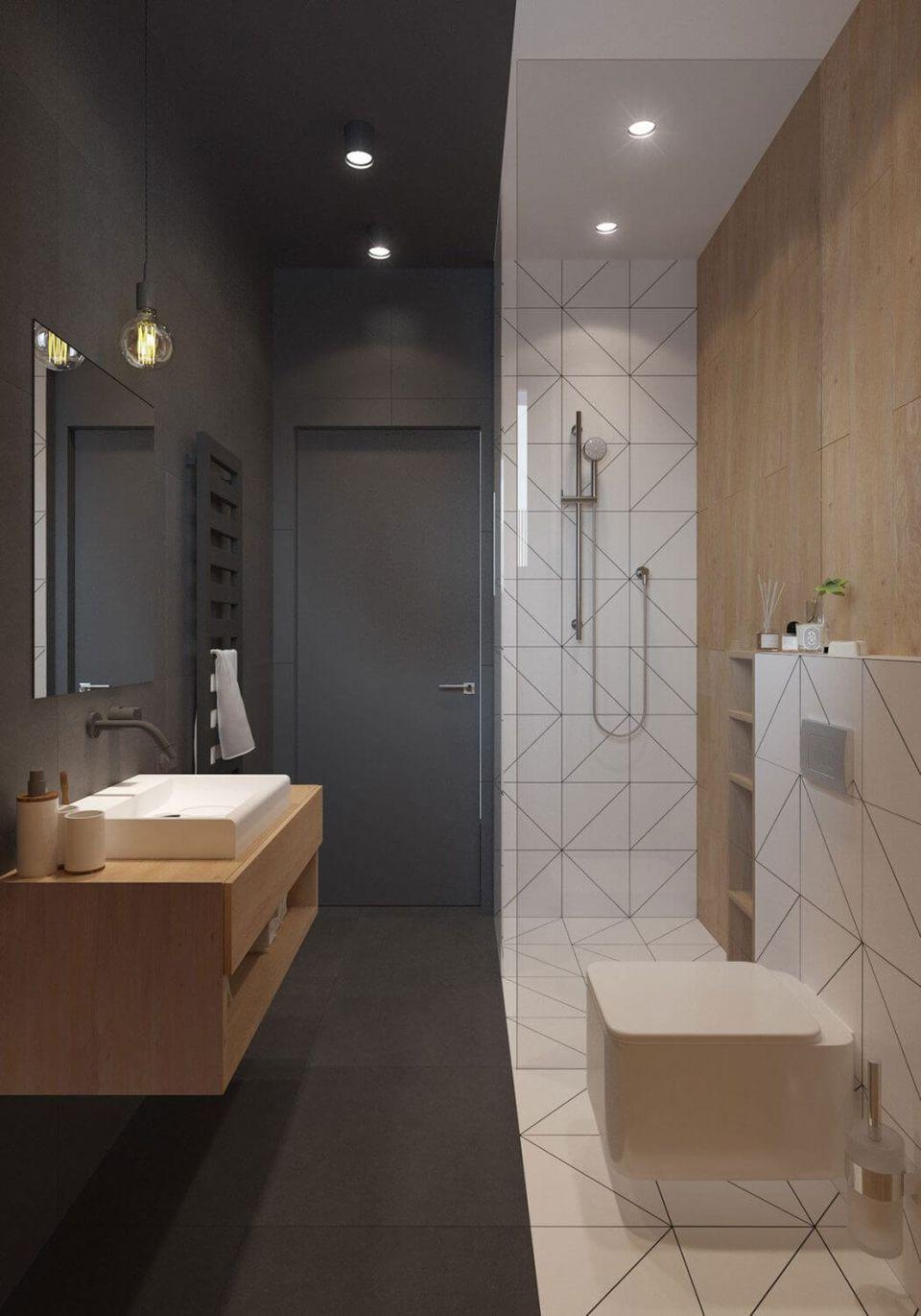 11 ScandinavianStyle Bathrooms