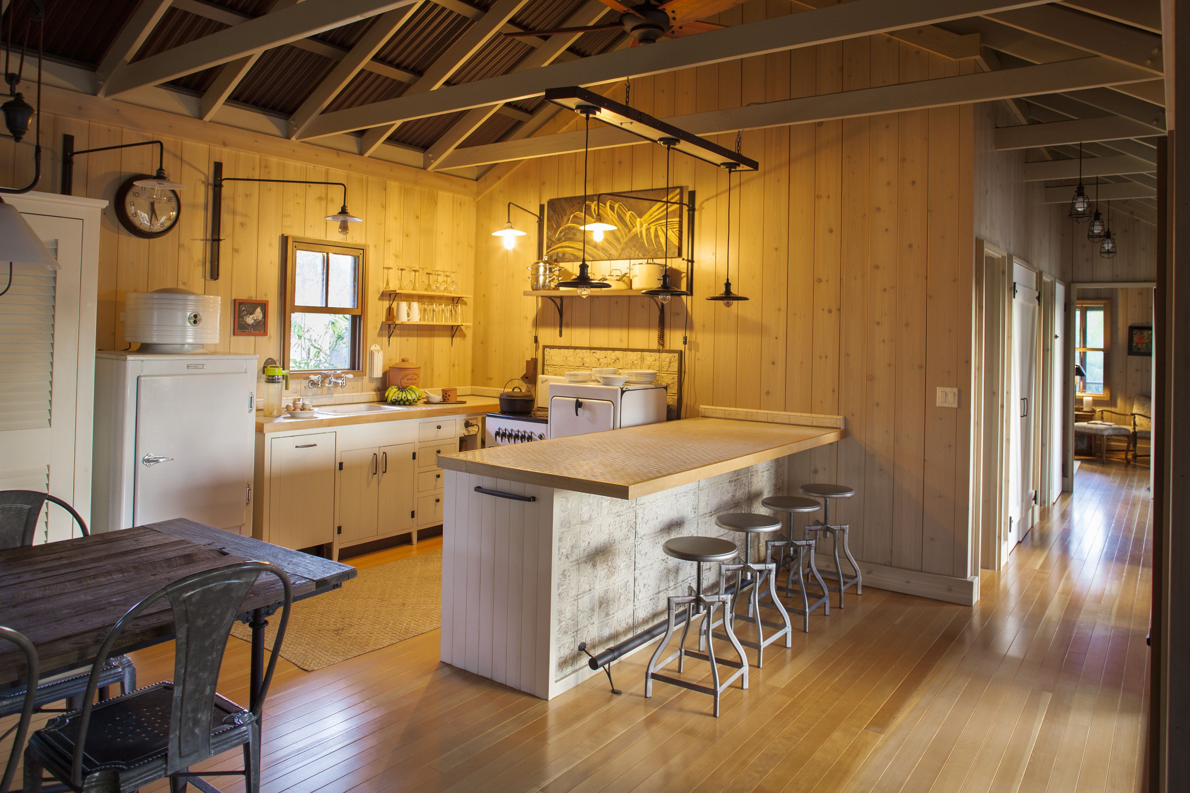 Can You Expose Ceiling Joists For That Open Beam Look
