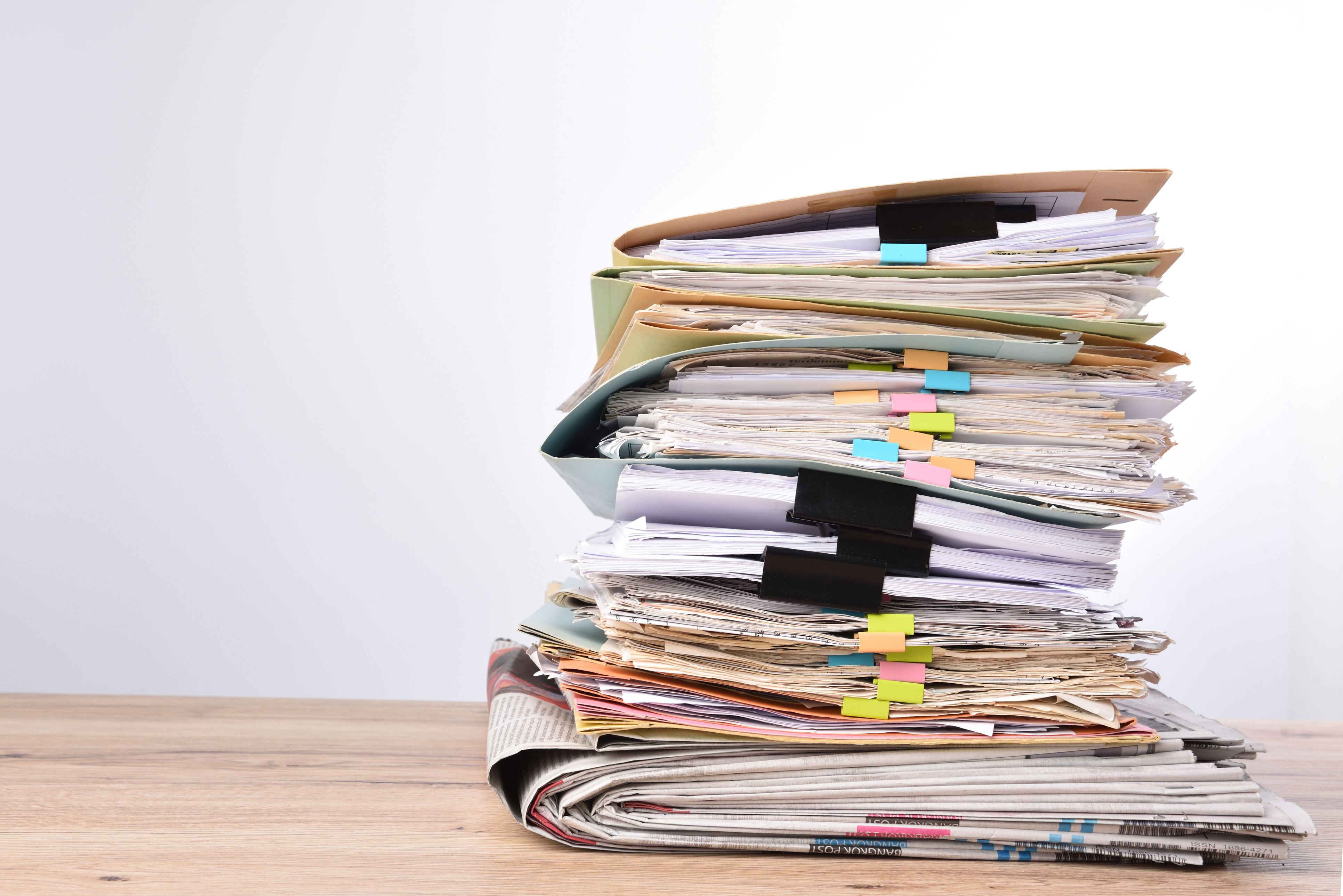 How Long to Keep Documents and What to Shred