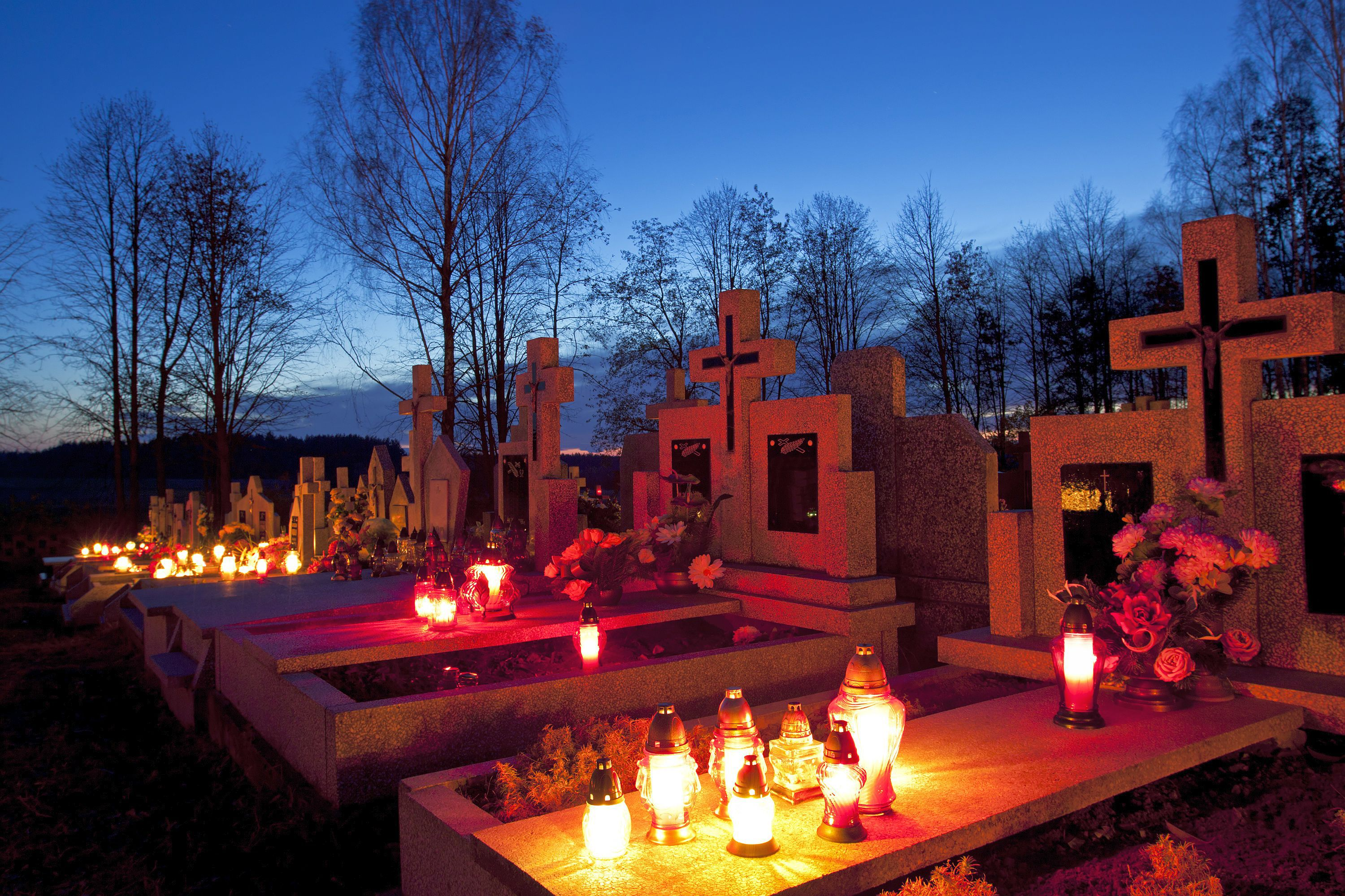 All Saints Day and All Souls Day in Eastern Europe