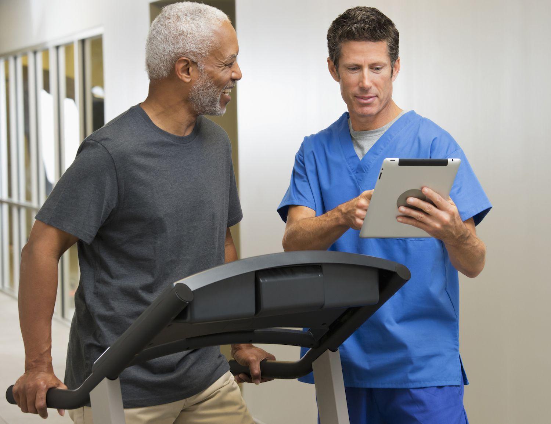 Six Minute Walk Test During A Rehabilitation Program