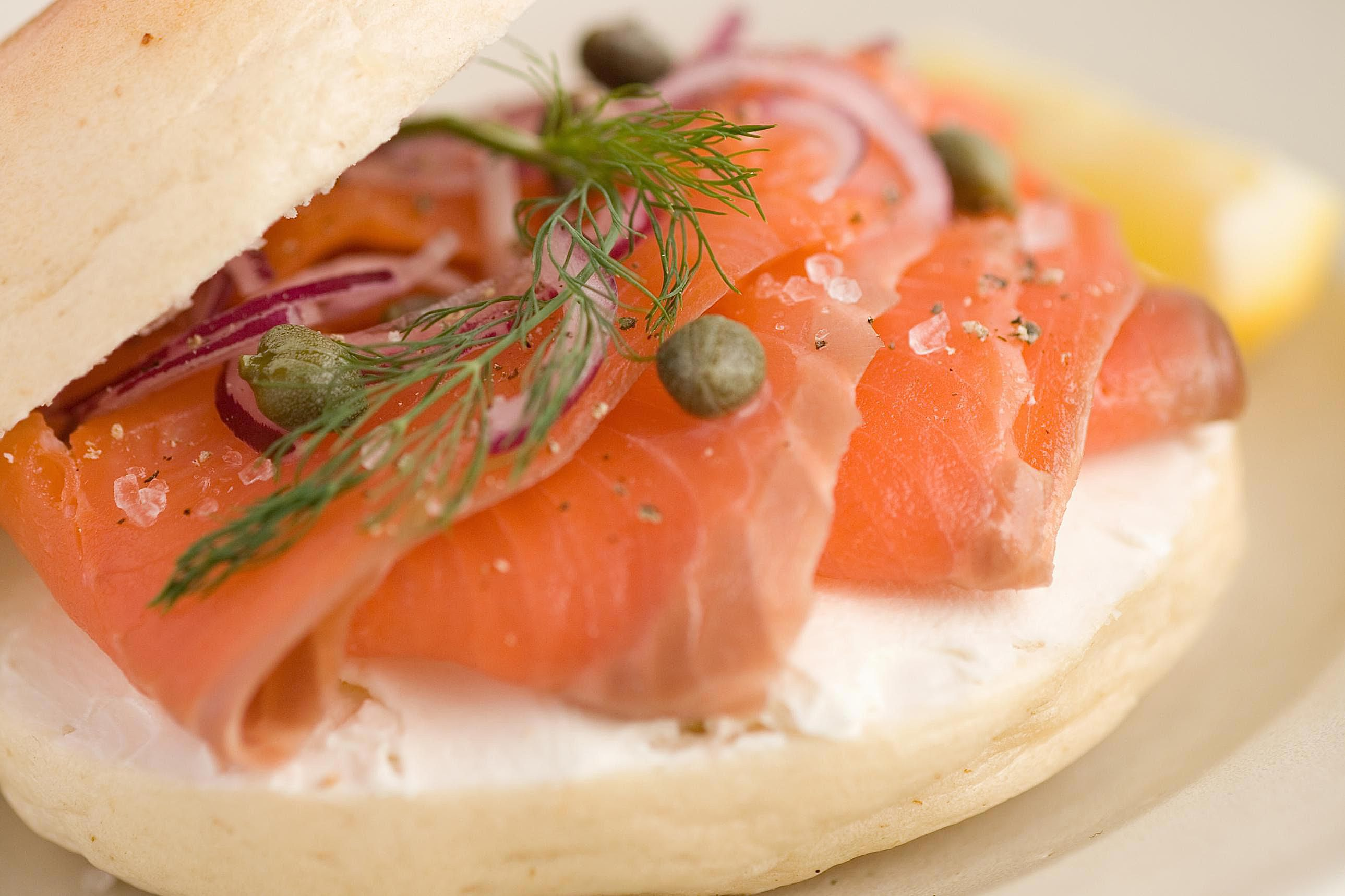 kitchen reno fifth wheel campers with bunkhouse and outdoor open-face smoked salmon bagel