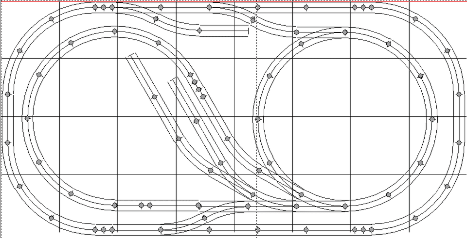 Ideas for 4'x8' Model Railroad Layouts