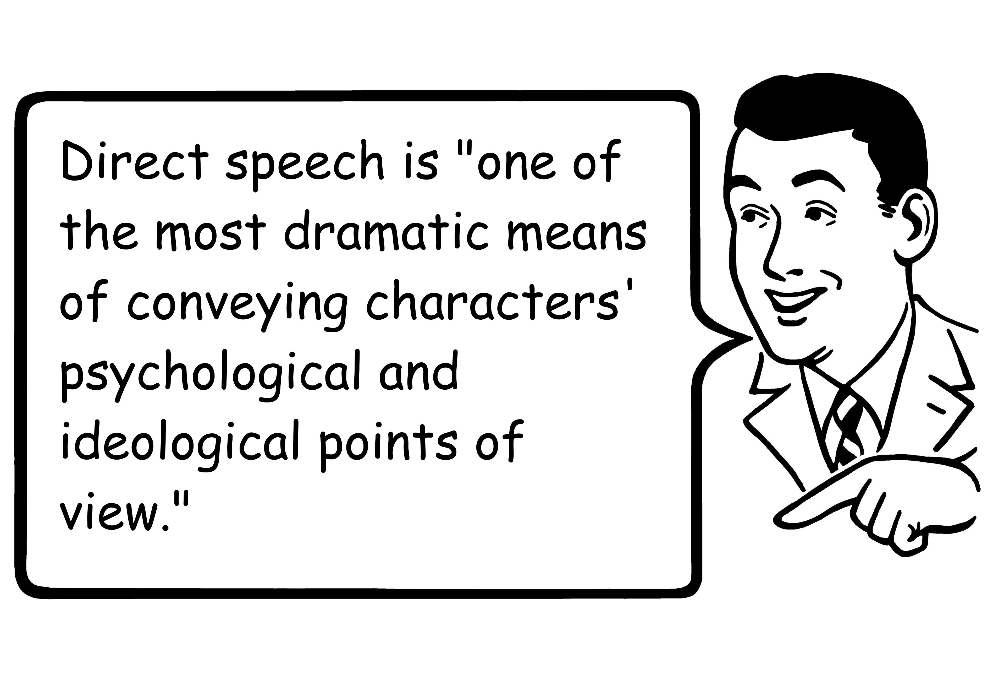Direct Speech Definition and Examples