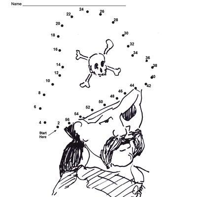 An Easy Free Printable Snowman Dot to Dot for Christmas