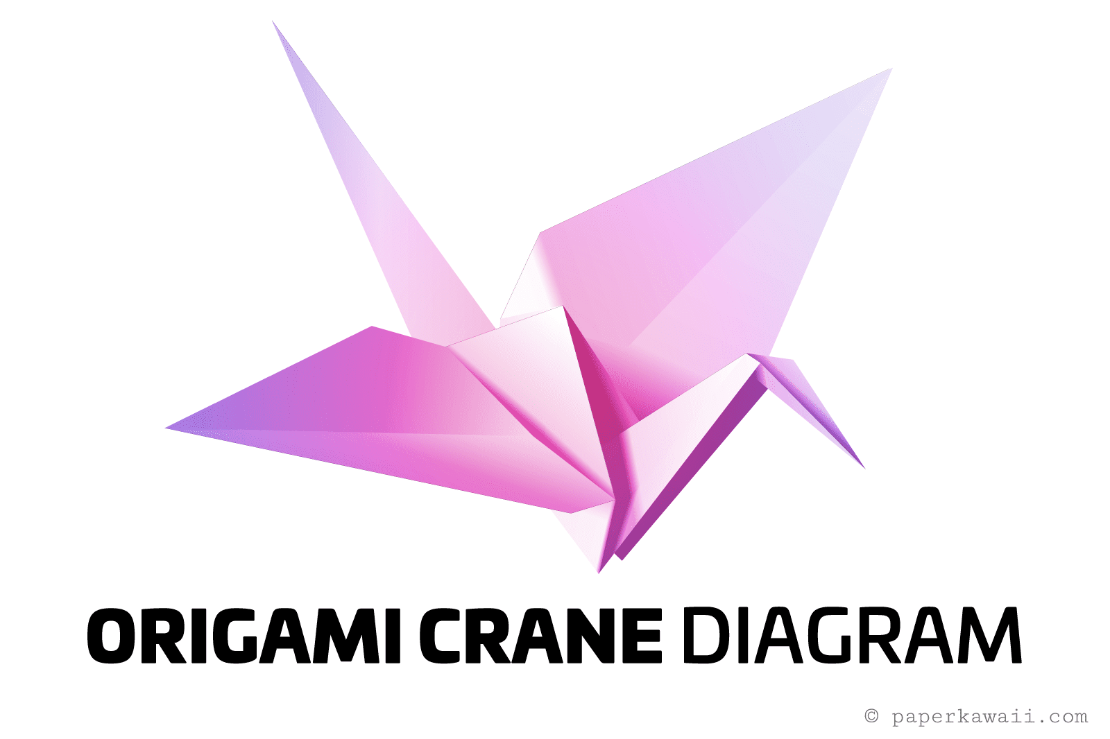 origami paper crane diagram phone outlet wiring easy instructions