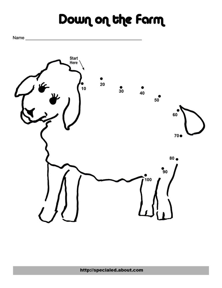 An Easy Chicken Dot to Dot