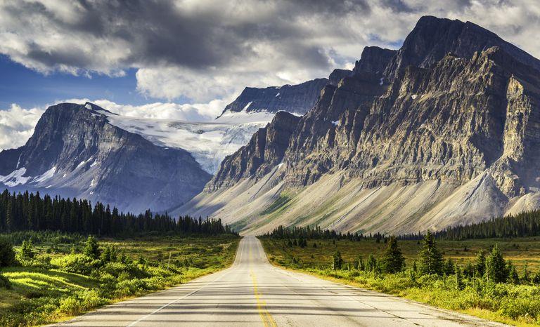 Icefields Parkway, Banff Ulusal Parkı, Alberta