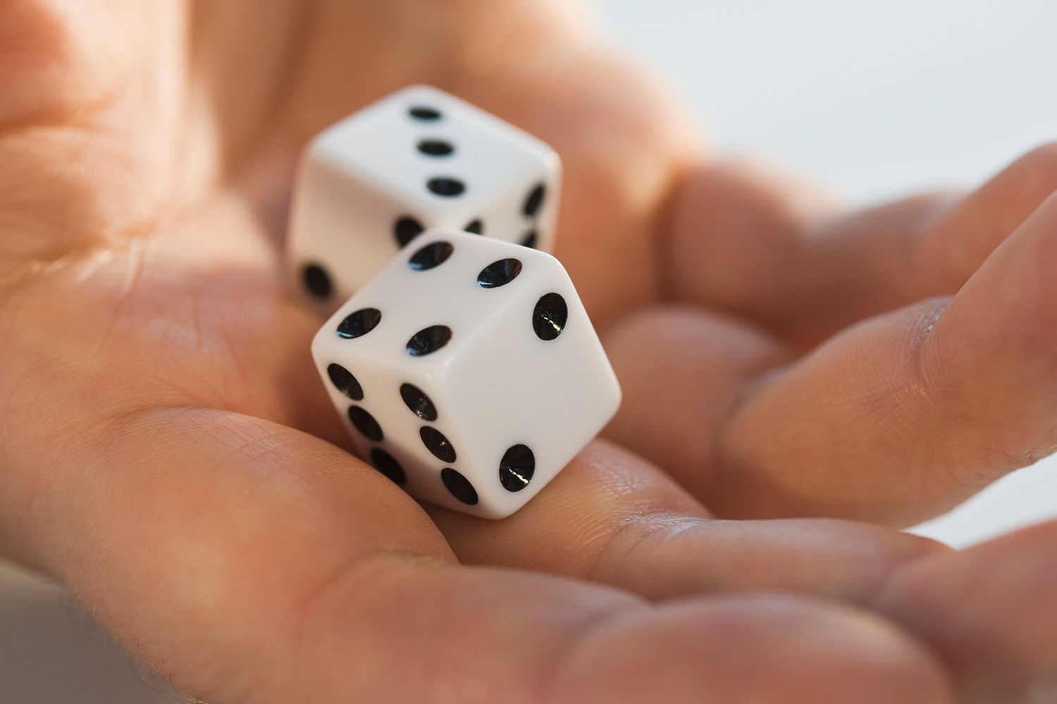 Probabilities For Rolling Two Dice