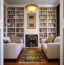Beautiful Home Library Rooms