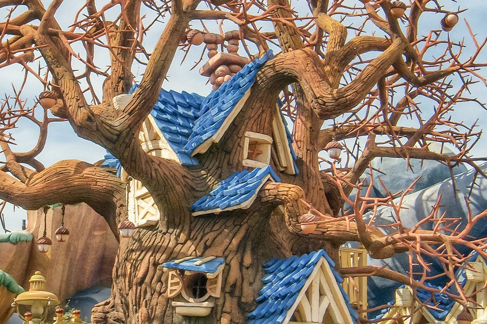 Chip N Dales Treehouse At Disneyland Things You Need