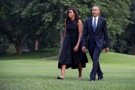 Obama et sa femme