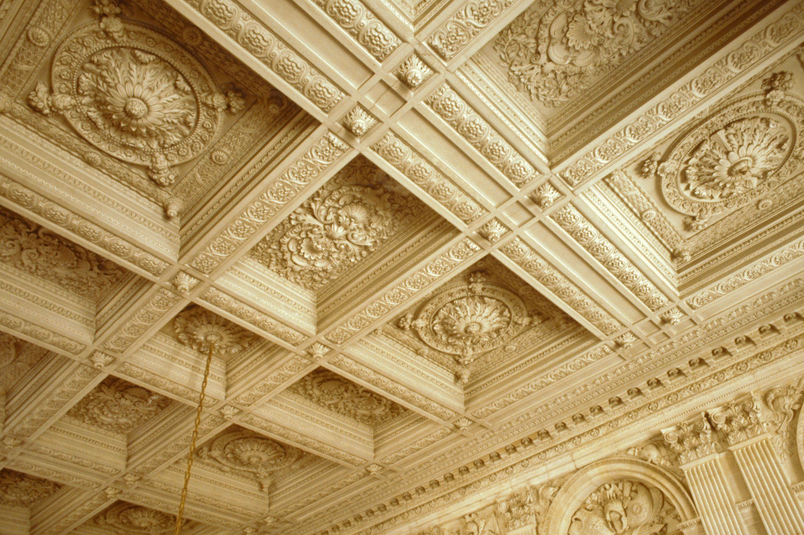 The Coffered Ceiling in Architecture and Your Home