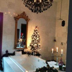 Decorate Small Living Room For Christmas Houzz Modern Lighting Cheerful Christmas-themed Bathroom Decor Ideas