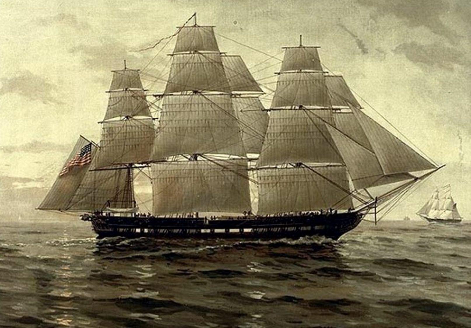Frigate Uss Chesapeake In The War Of