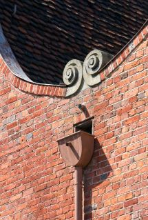 Parapet Wall Roof Scupper Drain