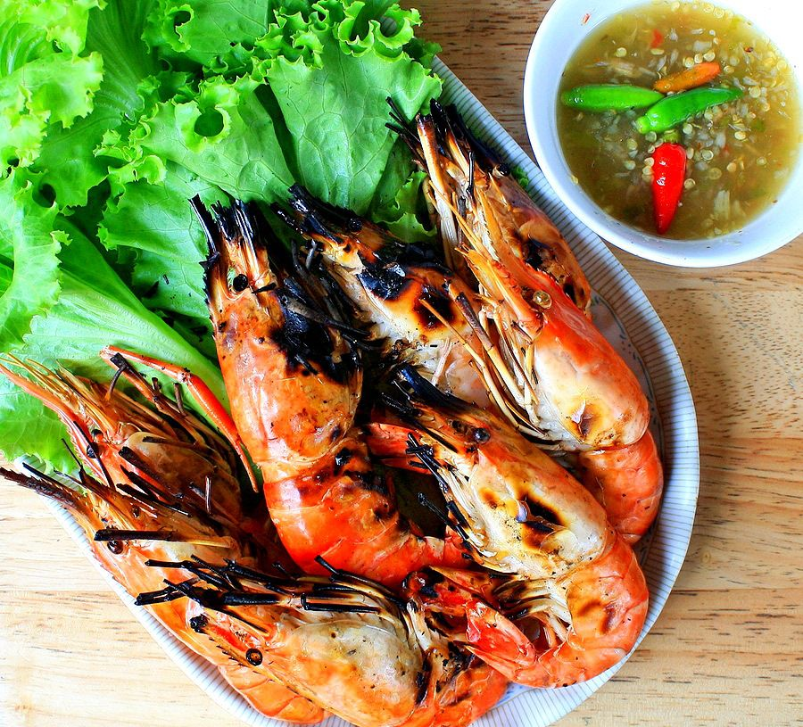Grilled Garlic Shrimp in the Shell Recipe