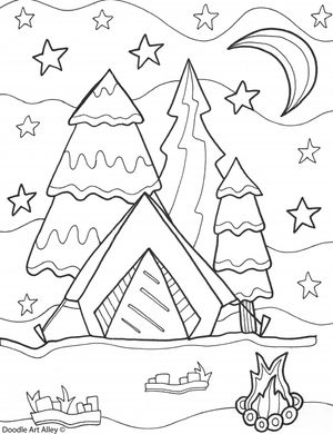 243 Summer Coloring Pages for Kids