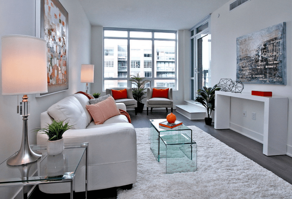 The chemical structure of water consists of two hydrogen atoms and one oxygen atom. 21 Modern Living Room Design Ideas