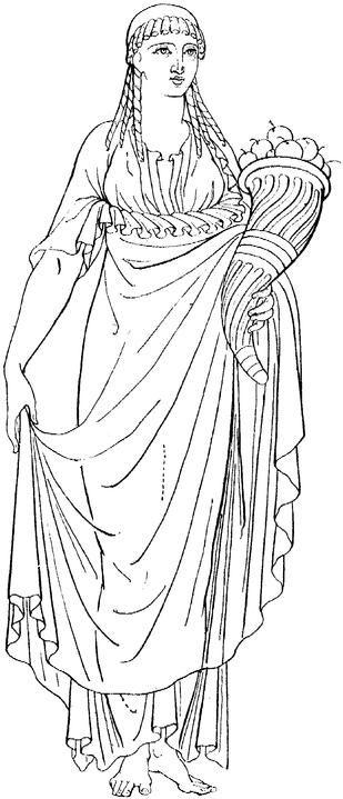 Origins of the Cornucopia in Greek Mythology