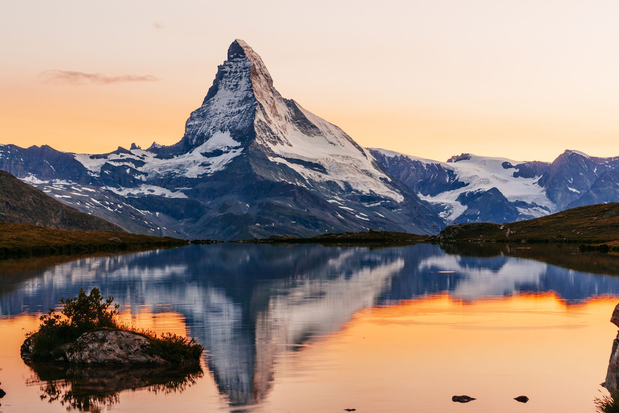 The Matterhorn Is Switzerlands Famous Mountain