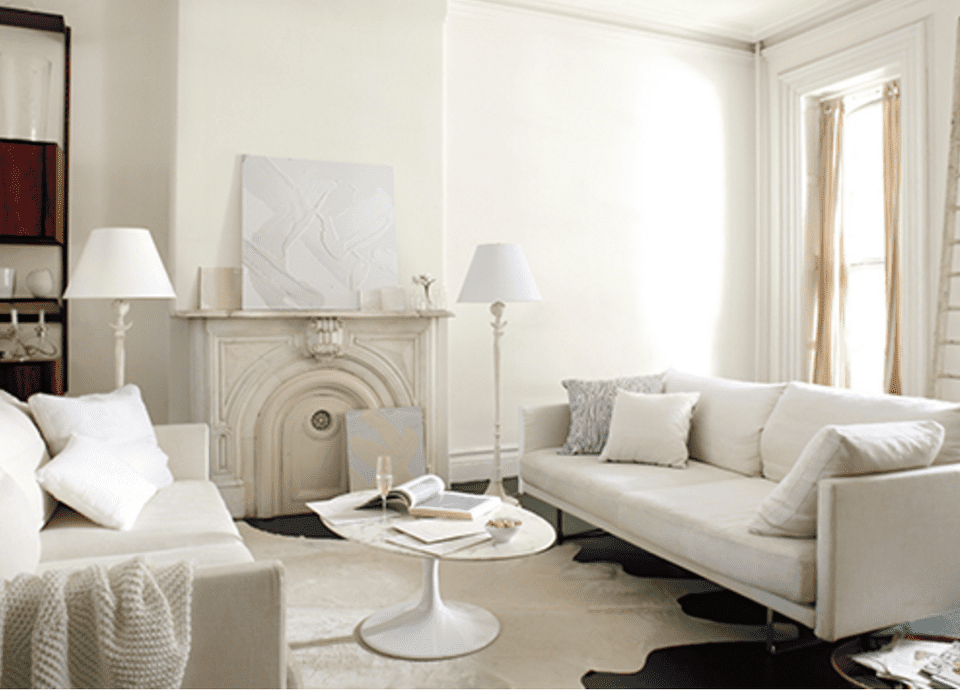 See Rooms Featuring Benjamin Moore's Simply White