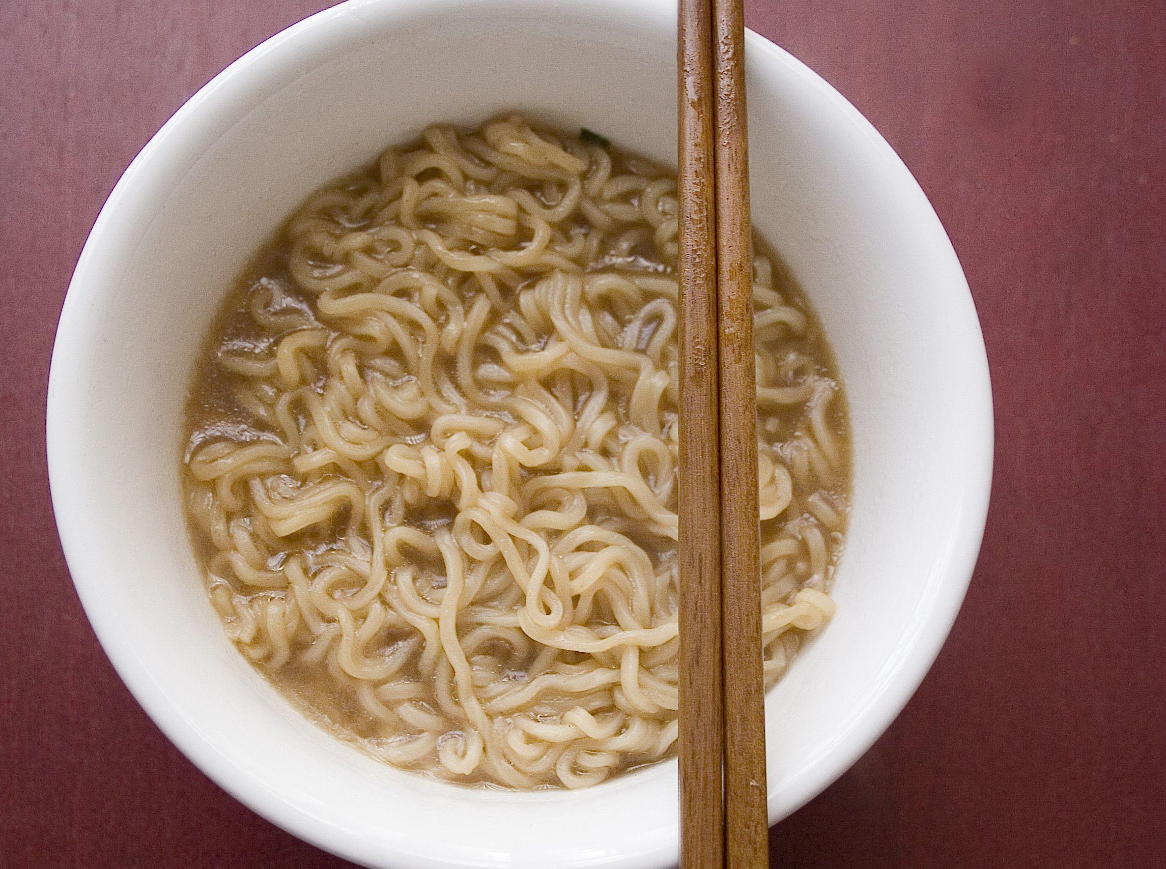 Cheap Vegetarian Ramen Noodle Curry Recipe