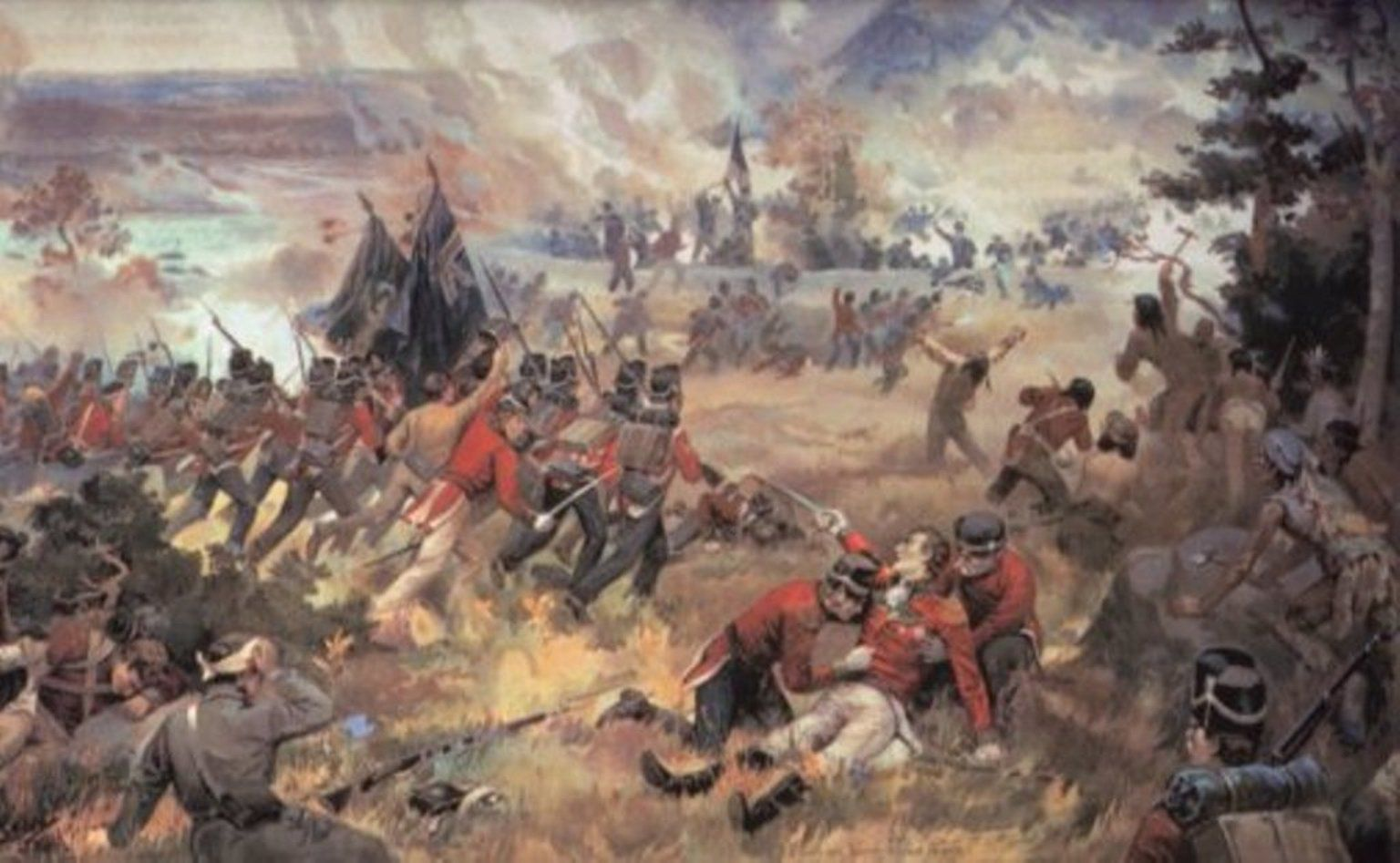 War Of Battle Of Queenston Heights