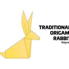 Origami Advanced Eagle Diagram 3 Way Wiring Power At Light Traditional Rabbit Instructions