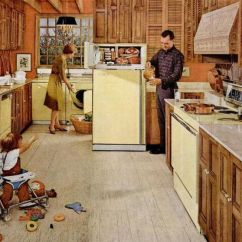 Ikea Solid Wood Kitchen Cabinets Chrome Faucets 1960s Kitchens: From Jet-age To Funkadelic