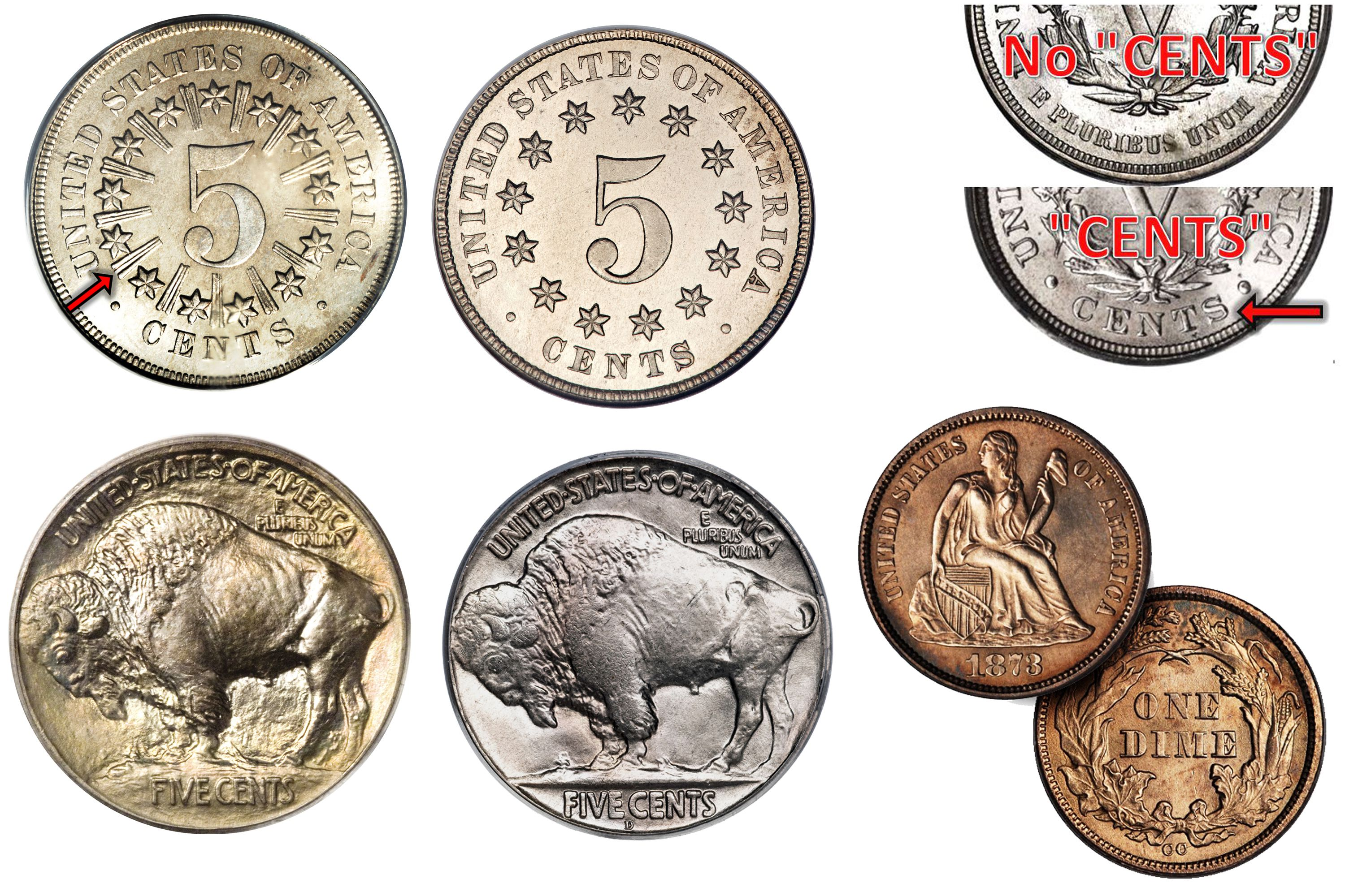 The Complete Type Set Of United States Coins